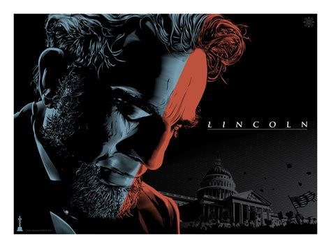 lincoln poster the academy and gallery1988 present posters by various