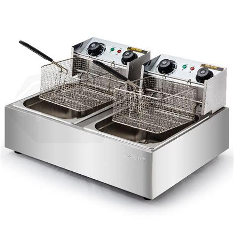 Oven Non Listrik 20l 5000w electric fryer shop chef fryers