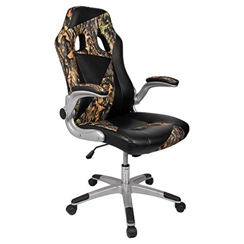 Camo Cing Chair by Homall Ergonomic High Back Pu Leather Racing Style