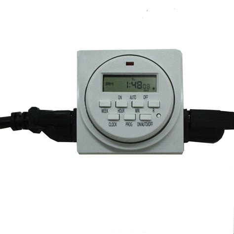 viagrow 120 volt dual outlet 24 hour digital timer vgdt100