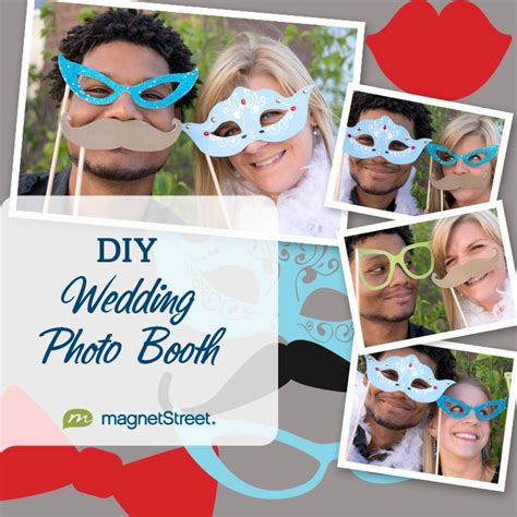 wedding photo booth props diy and free printable diy wedding photo booth props