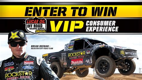 Circle K Sweepstakes - rockstar circle k lucas oil off road series sweepstakes rockstar energy drink