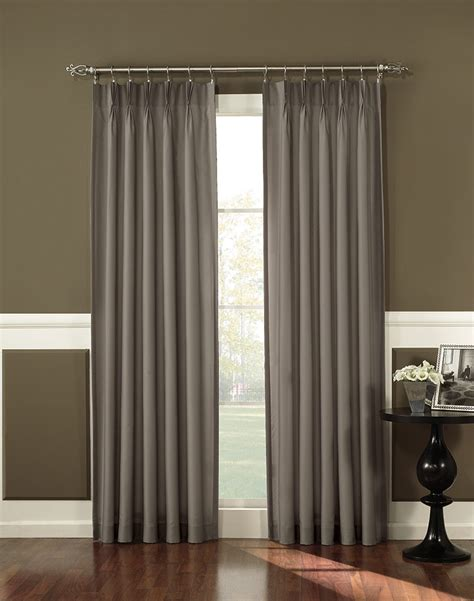 curtain works antoinette pleated back tab curtain panel curtainworks com