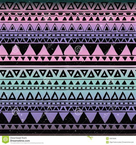 tribal pattern free image aztec tribal seamless pattern stock vector illustration