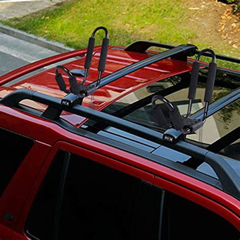 boat carrier for suv goplus 2 pair canoe boat kayak carrier car suv truck roof