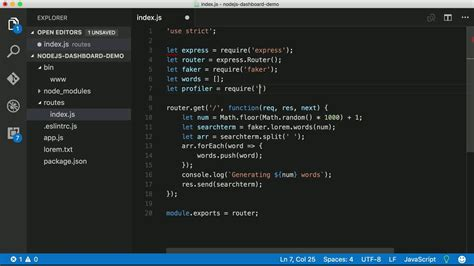 node js node js lessons screencast video tutorials eggheadio