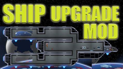 ship upgrades starbound ship upgrade mod starbound youtube