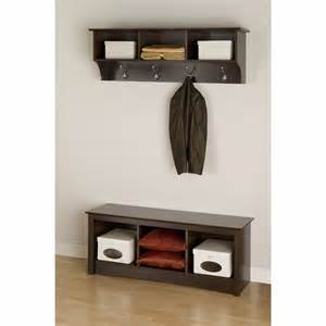 Entryway Rack entryway bench with rack hall tree coat storage foyer furniture wooden