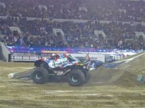 nitro circus monster truck backflip nitro circus lands first backflip in monster truck