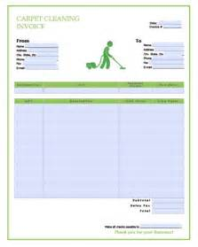 cleaning service template free carpet cleaning service invoice template excel