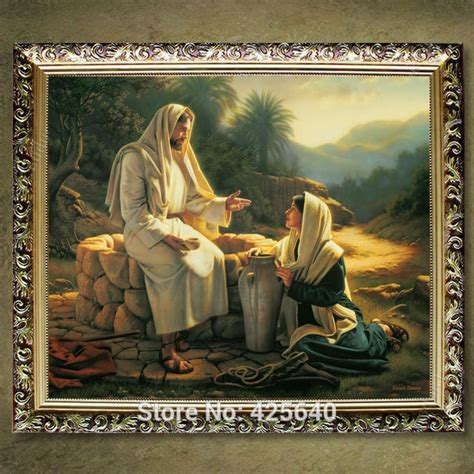 home decor jesus painting jesus save us decor