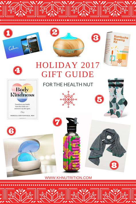 2017 holiday gift guide for the health nut kh nutrition