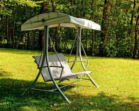 make a swing seat how to make your garden swing seat with canopy look like new