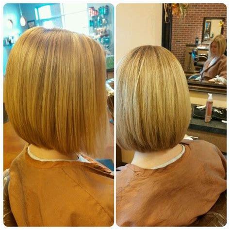 kelly ripa angled bob short hairstyles a b c and studios on pinterest