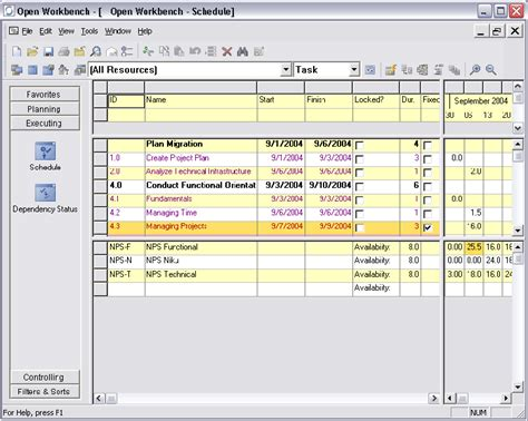open work bench open workbench project management software