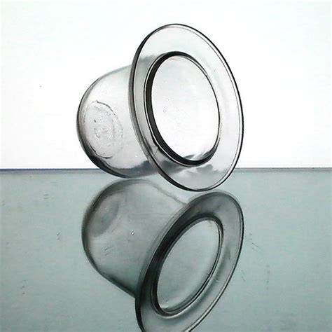 Flat Glass Candle Holders Hanging Candle Holder 4 X 4 75 Flat Thick Glass Clear Oos