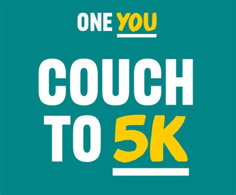 couch 5k nhs physical activity
