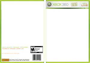 xbox 360 template xbox cover templatexbox template with plastic