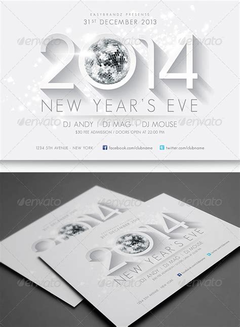 new year template psd 25 new year psd flyer templates web
