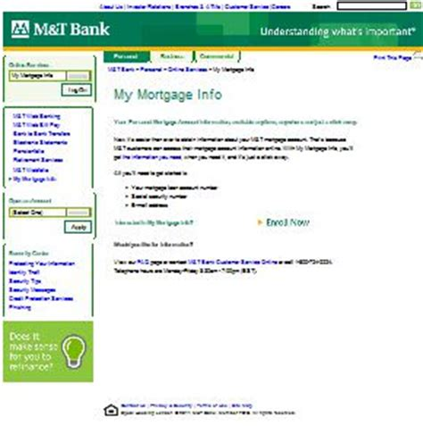 m t bank my mortgage www mtb mymortgageinfo my mortgage info my suggestion