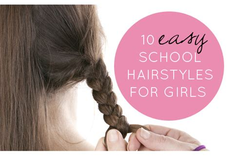 hairstyles for junior school 10 easy school hairstyles for girls