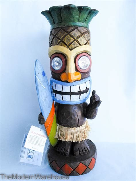 Buy Tiki Head Light String Set   Luau Party Patio Lights
