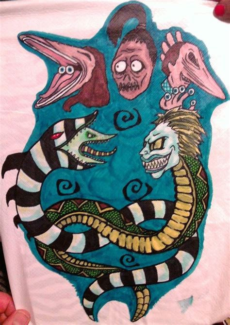 tattoo shops eagle pass tx beetlejuice vs sandworm by tygora on deviantart tattoos