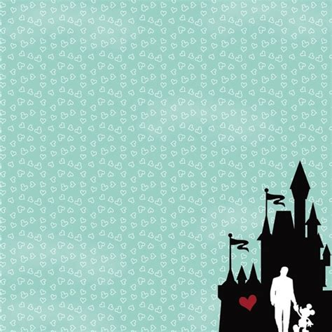 disney scrapbooking paper mickey mouse stickers