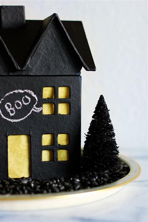 diy haunted house chalkboard haunted house diy