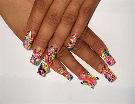 spiral pattern nails 3d spiral 3d butterfly nail art archive style nails