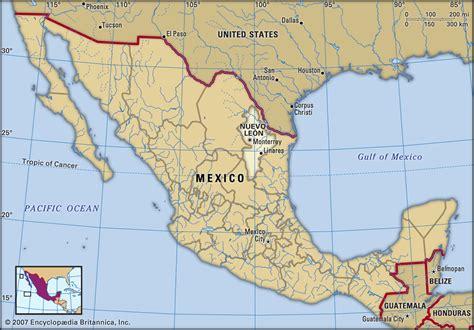 map of monterrey mexico image gallery monterrey map