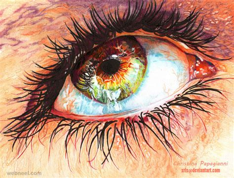25 hyper realistic color pencil drawings by