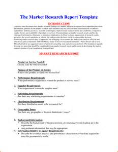 5 market research report template expense report