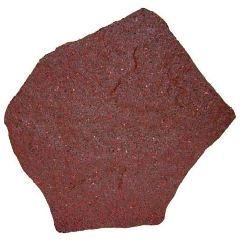 decorative stepping stones home depot envirotile 18 in x 18 in terra cotta rubber stepping