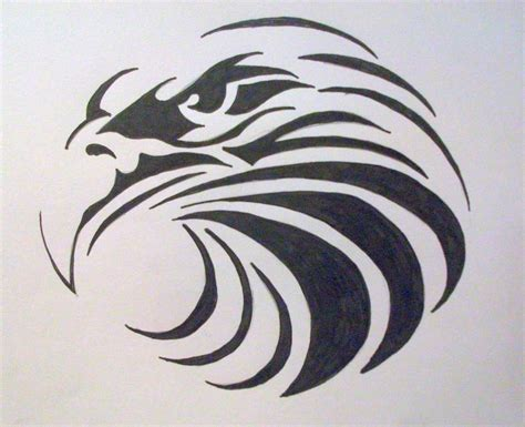 eagle tattoo tribal art tribal eagles drawings www imgkid com the image kid