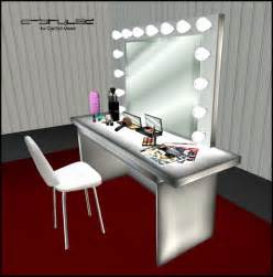 Vanity Table Set With Lights Makeup Vanity Sets With Lights Car Tuning