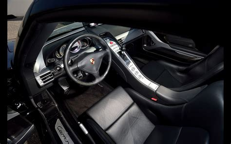 Home Interior Photos by 2005 Porsche Carrera Gt Basalt Black Interior 1
