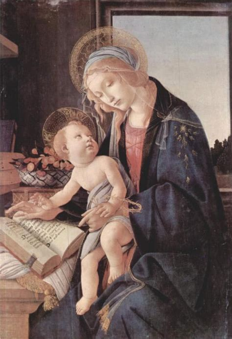 libro the red virgin and sandro botticelli paintings gallery in chronological order
