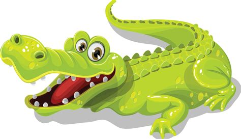 crocodile clipart free happy crocodile clip
