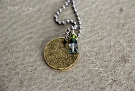 how to make coin jewelry coin jewelry diy diy do it your self