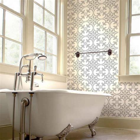 home decor stencils fabiola tile stencil size medium diy home decor