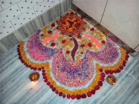 design of flower rangoli easy rangoli designs make them without a hassle starsricha