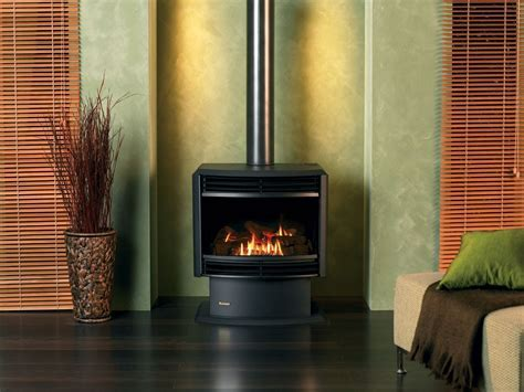 Royale Freestanding ETR Gas Log Flame Fire   Crown Group