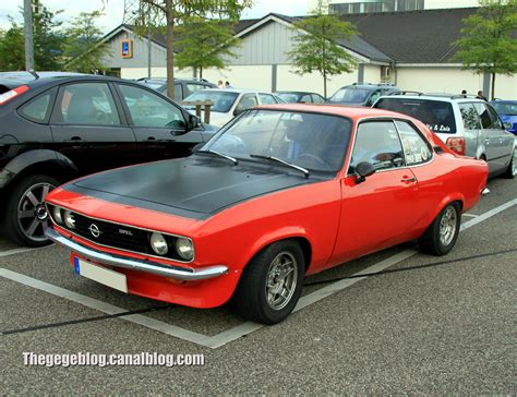 1972 Opel Manta Photos Informations Articles
