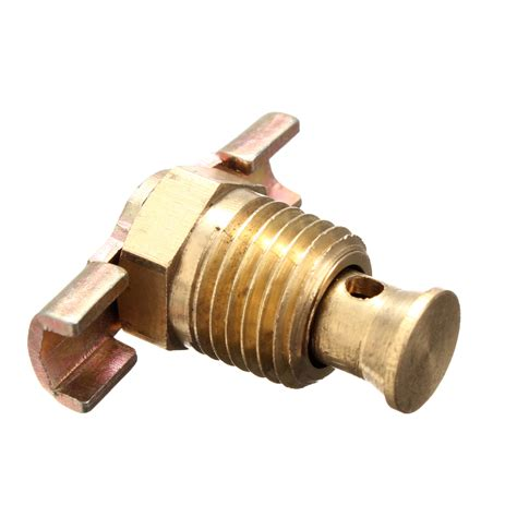 Four Air Brass 4755 by 1 4 Npt Brass Tank Drain Valve For Air Compressor With