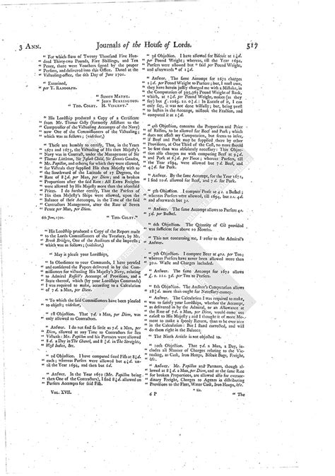 mla letter format house of journal volume 17 24 march 1704 1767