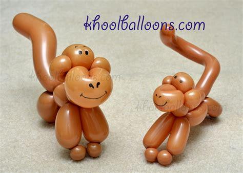 One balloon monkey