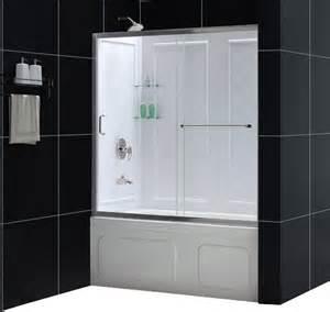 dreamline infinity shower door dreamline infinity z 56 to 60 quot frameless sliding tub door