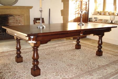 convertible dining snooker tables hamilton billiards