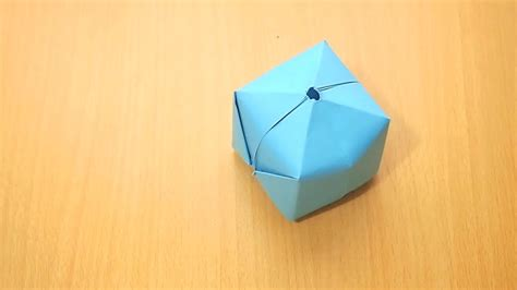 How To Make An Origami Paper Balloon - comment faire un ballon en origami 8 233